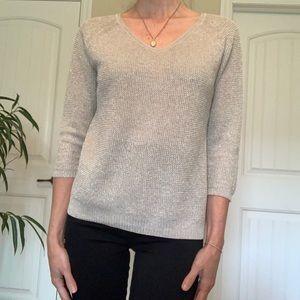 Massimo Dutti Glittery Sweater